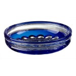 COPPA MACEDONIA Ø280 INCAMICIATA BLU INCISACASED BLUE BOWL Ø280