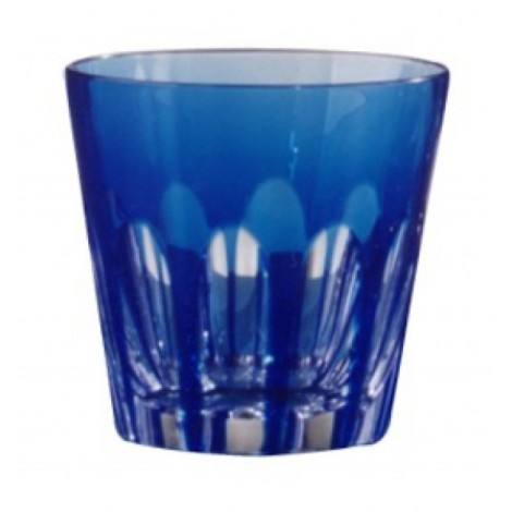 CASED BLUE GLASS H80 RIBS